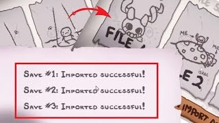 How to import data from isaac  rebirth to afterbirth