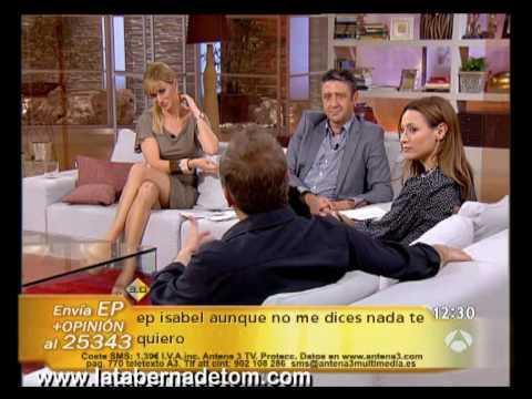 Entrevista a Natalia Verbeke y Gonzalo de Castro en Espejo Público 03.06.10