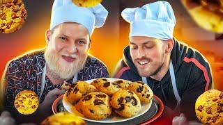 Готовим домашнее печенье без рецепта! Челлендж!