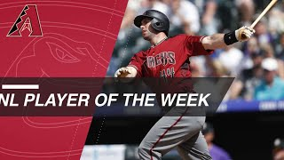 Paul Goldschmidt is the NL Player of the Week