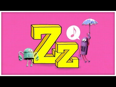 """ABC Song: The Letter Z, """"I'll Be with Z"""" by StoryBots"""