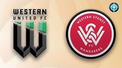 Startelf-Debüt von Nicolai Müller |  Western United FC - Western Sydney Wanderers