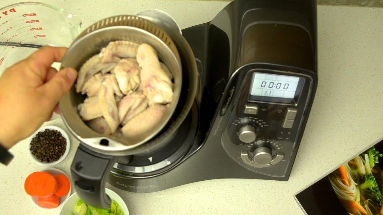 Chicken broth the mycook premium way youtube chicken broth the mycook premium way forumfinder Images
