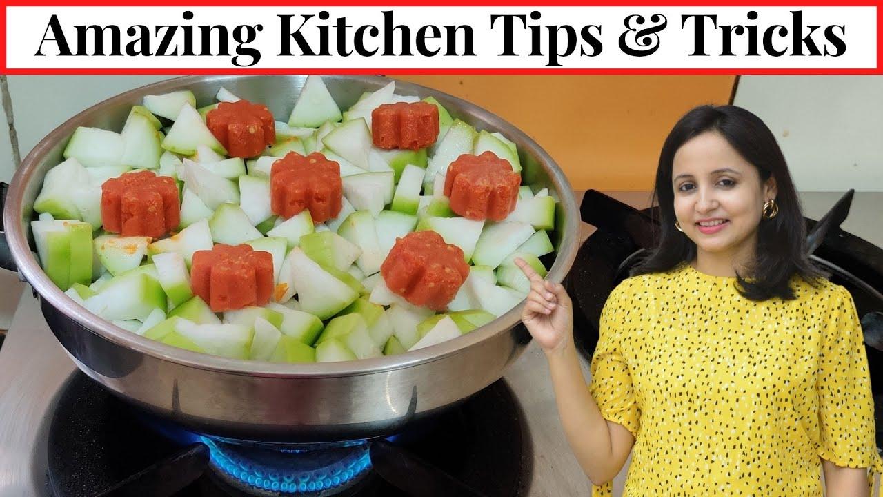 7 Smart & Useful Kitchen Tips & Tricks | Time & Money Saving Kitchen Tips/Hacks | Urban Rasoi