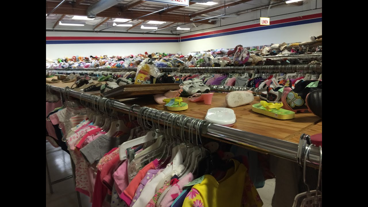 Thrift Store Reborn Shopping Come Along Baby Clothes