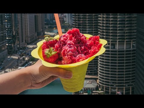 Boozy Shaved Ice Is Better on the Roof
