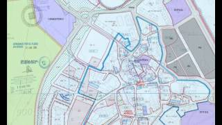 Georeferencing information on urban cadastral mapping - C.Villalba (Spain)