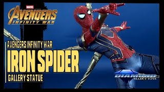 Diamond Select Avengers Infinity War Iron Spider Marvel Premier Collection Statue Review