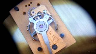 Antique Old Edwardian Escapement Timepiece Mantle Mantel Clock For Spare Repair