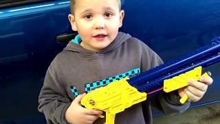 Nerf Shotgun Review Video