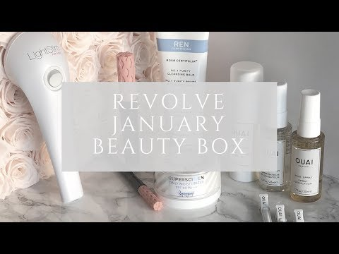 Revolve Beauty Box January
