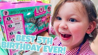 ANOTHER HUGE 5TH BIRTHDAY SURPRISE!