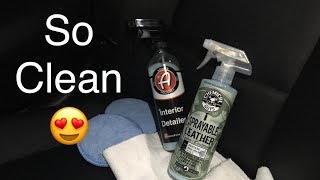 Quick Leather Care! Chemical Guys 2-in-1 Cleaner and Conditioner (First Impressions)
