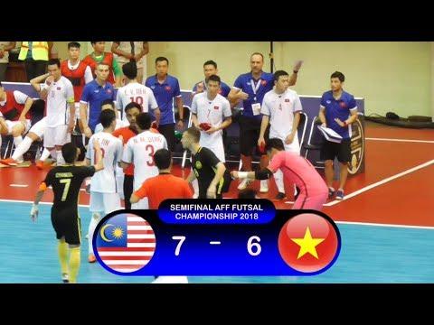 Highlights Malaysia Vs Vietnam (7-6) Semifinal AFF Championship 2018