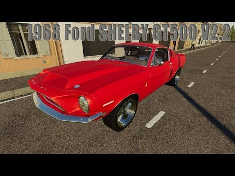 FS  Mod Vorstellung Farming Simulator :  Ford SHELBY GT V.
