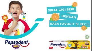 Pepsodent Kids - Sikat Gigi Seru Dengan Rasa Favorit Si Kecil