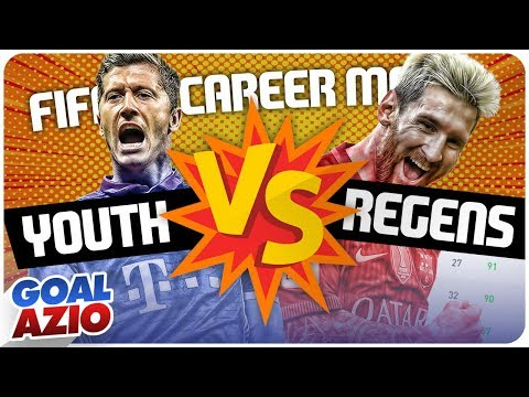 Youth Players V.s. Regens Players   FIFA 19 Career Mode