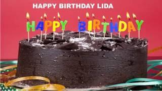 LidaLongI Lida with a long I   Cakes Birthday