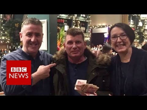 Christmas Tale: Payment envelope reunited with its owner after Social Media campaign – BBC News