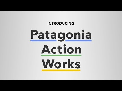 Patagonia Opens Action Works Café in London to Tackle Environmental Crisis'