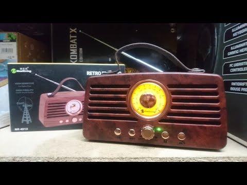 Review: NewRixing Altavoz Bluetooth Retro Vintage Radio FM