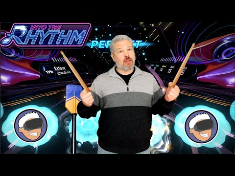 Into the Rhythm Is Like Guitar Hero in VR... But With Drums!