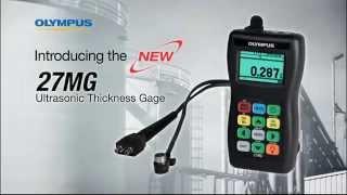 Ультразвуковой толщиномер 27MG(27MG производства компании Olympus – это доступный по цене ультразвуковой толщиномер, предназначенный для прец..., 2014-08-14T13:18:28.000Z)