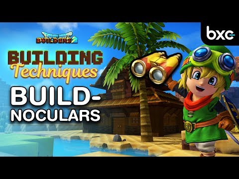 How to build a House with Buildnoculars | Reach max Fanciness | Dragon Quest Builders 2