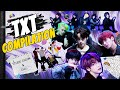 CHOOM & CHILL🔥 TXT COMPILATION | 다시보는 #스튜디오춤TXT | Cat & Dog / New Rules / Can't You See Me? / PUMA
