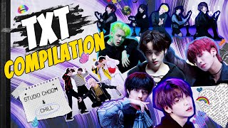 [CHOOM & CHILL🔥] TXT COMPILATION | 다시보는 #스튜디오춤TXT | Cat & Dog / New Rules / Can't You See Me? / PUMA
