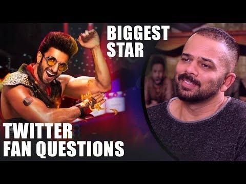 """Ranveer Singh Will Be The BIGGEST Star Amongst…"": Rohit Shetty | SRK | Twitter Fan Questions Mp3"