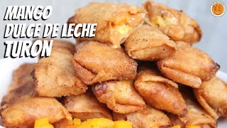 MANGO DULCE DE LECHE TURON | How to Make Special Mango DDL Turon | Mortar and Pastry