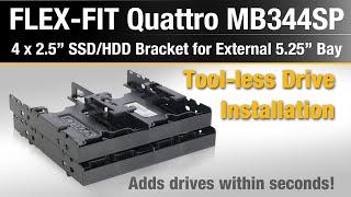 ICY DOCK FLEX-FIT Quattro MB344SP 4 x 2.5