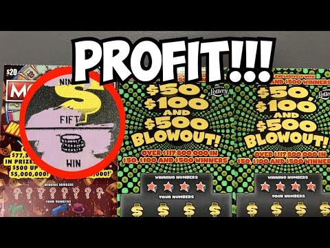 💥 Profit! 💥   $40 In Florida Scratch Tickets!