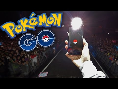 POKEMON EN PERU! Pokemon GO y Entel Media Fest - [LuzuGames]