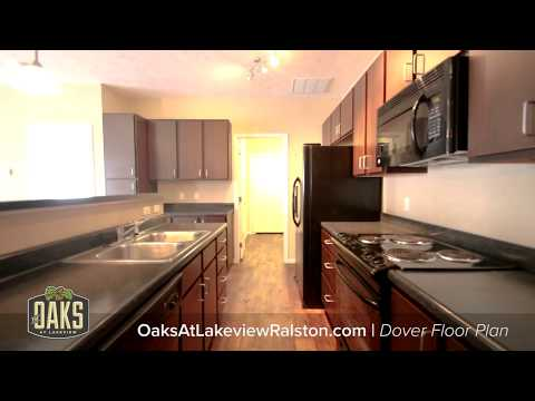 The Oaks at Lakeview Apartment Home Tour - Dover Floor Plan