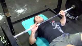 mma strength training floor press lopez strength and conditioning