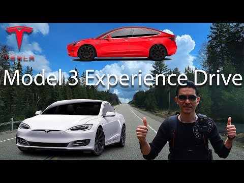 Episode 3 - Tesla test drive in Toronto (Model 3 Experience Drive)