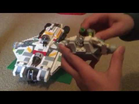 LEGO Star Wars ghost comparison