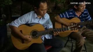 Đắp Mộ Cuộc Tình hòa tấu guitar Lâm Thông  nhạc trữ tình bolero sâu lắng nhất