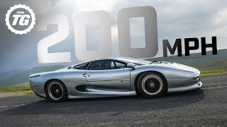 PREVIEW: Attempting 200mph in the Jaguar XJ220   Top Gear: Series 29