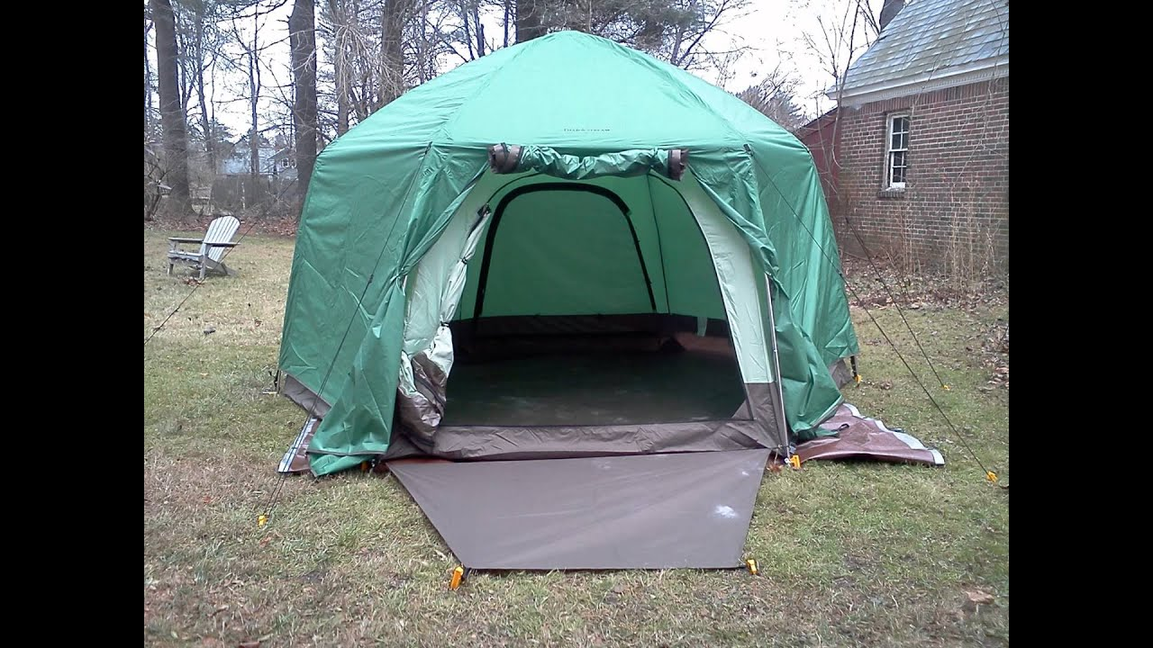 Field u0026 Streamu0027s Fairbanks Outfitter Tent & Field u0026 Streamu0027s Fairbanks Outfitter Tent - YouTube