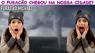 O FURACÃO CHEGOU NA NOSSA CIDADE? - HURRICANE MICHAEL thumbnail