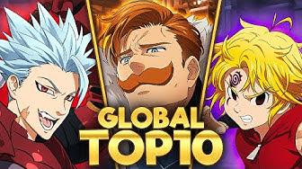 TOP 10 BEST HEROES ON GLOBAL GRAND CROSS (April 2020)