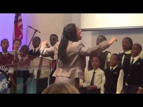 Crossroads Adventist School Choir performed: He Knows My Name. 05-16-2015.