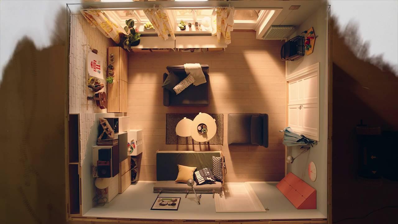 IKEA Quadratmeterchallenge Platz Fürs Familienleben