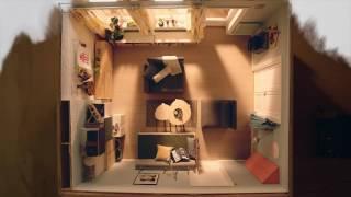 IKEA Quadratmeterchallenge: Platz fürs Familienleben