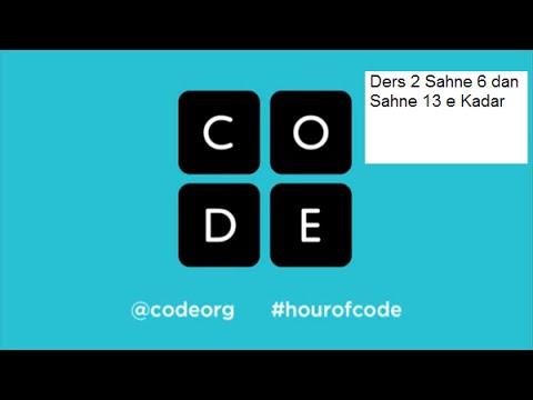 Code Org Ders 2 Sahne 6