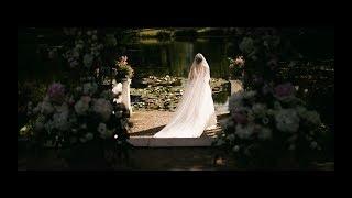 Bride wears epic wedding dress // Sagadi manor //4K// Edgar & Julia