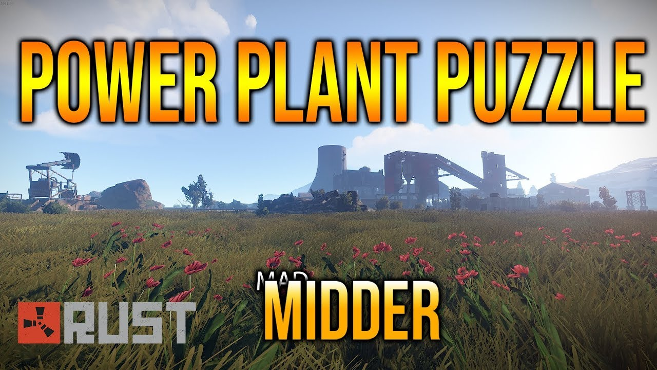 Power Plant | Monument Puzzle | RUST
